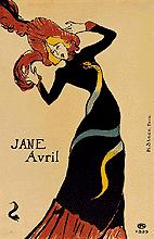 Toulouse-Lautrec. Jane Avril